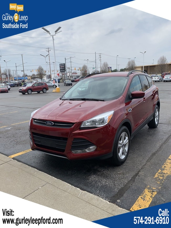 Used 2016 Ford Escape SE Sport Utility in South Bend, IN