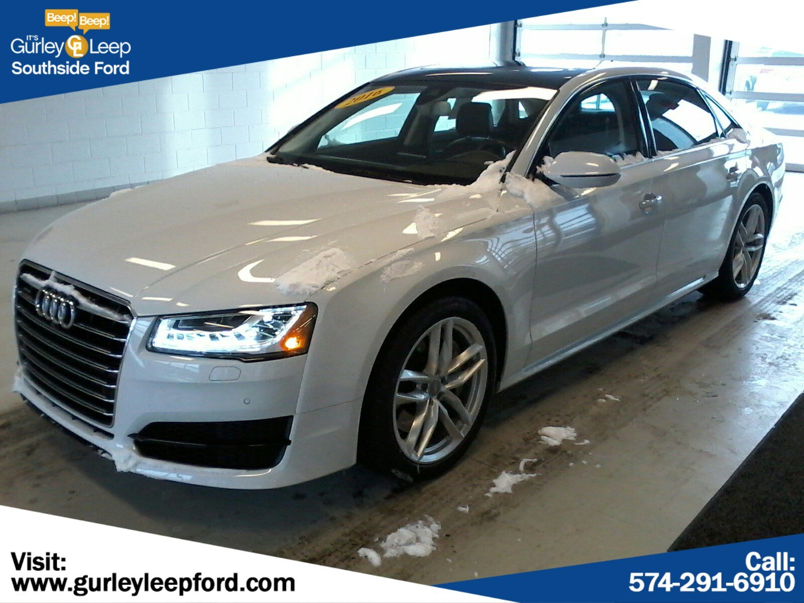 Featured Used 2016 Audi A8 L 4.0T Sport 4dr Car for sale near you in South Bend, IN