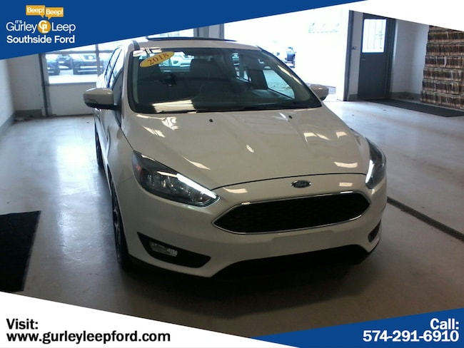 Used 2018 Ford Focus SEL 4dr Car in South Bend, IN