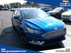 New 2018 Ford Fusion SE Sedan 3FA6P0HDXJR284516 SouthBend,IN