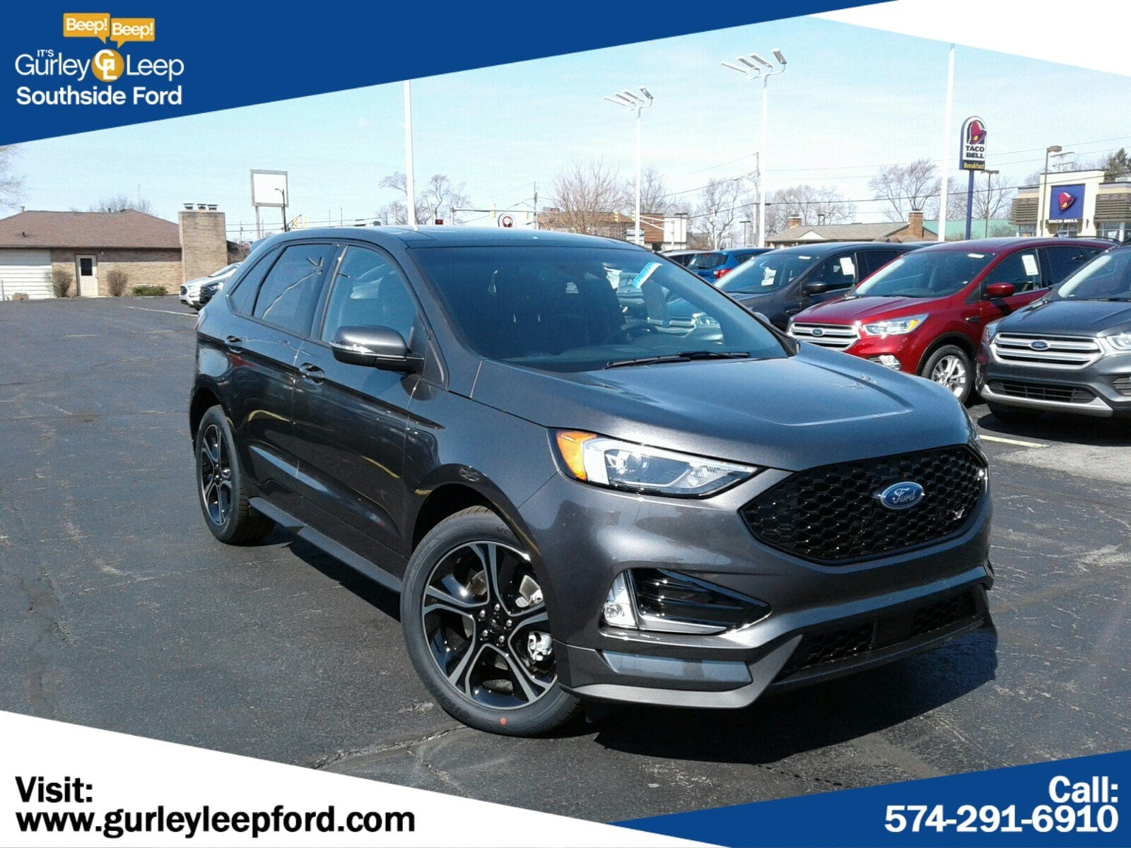 New Featured 2019 Ford Edge ST SUV for sale near you in South Bend, IN
