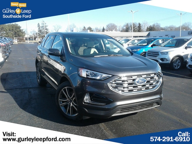 New 2019 Ford Edge Titanium SUV in South Bend, IN