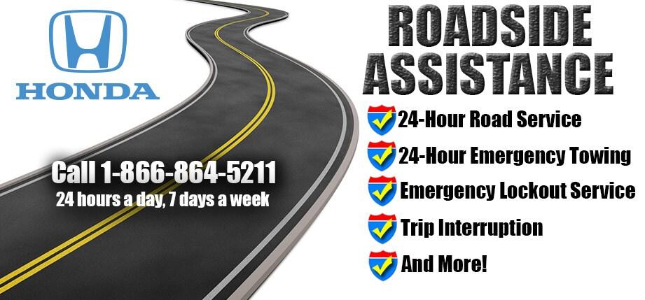 Hondau0027s Roadside Assistance