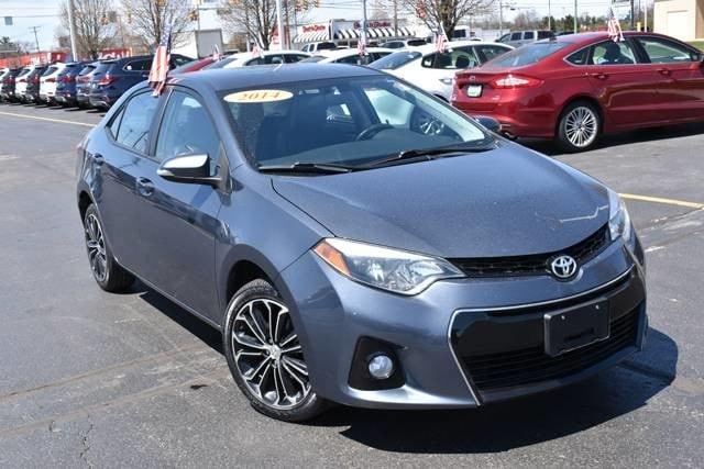 Toyota Corolla Used >> Used 2014 Toyota Corolla For Sale At Gurley Leep Subaru Vin 5yfburhe0ep087669