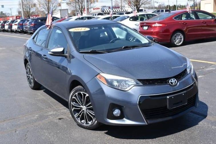 used 2014 toyota corolla for sale at gurley leep subaru. Black Bedroom Furniture Sets. Home Design Ideas