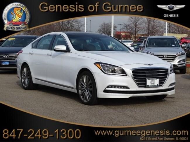 2017 Genesis G80 5.0 Ultimate Sedan