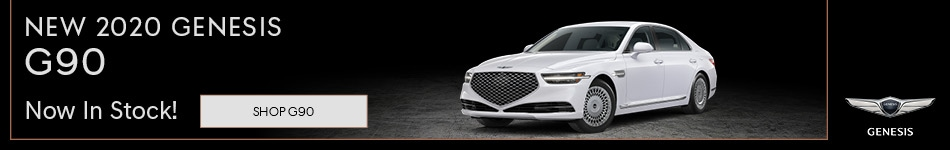 2020 Genesis G90 - Now In Stock!