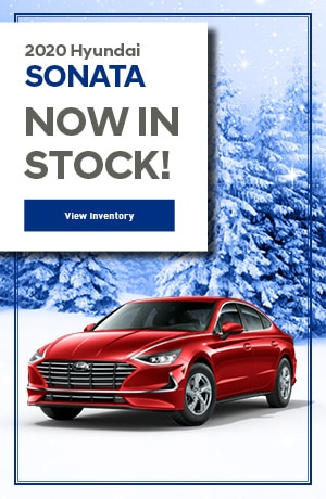 2020 Hyundai Sonata - Now In Stock!