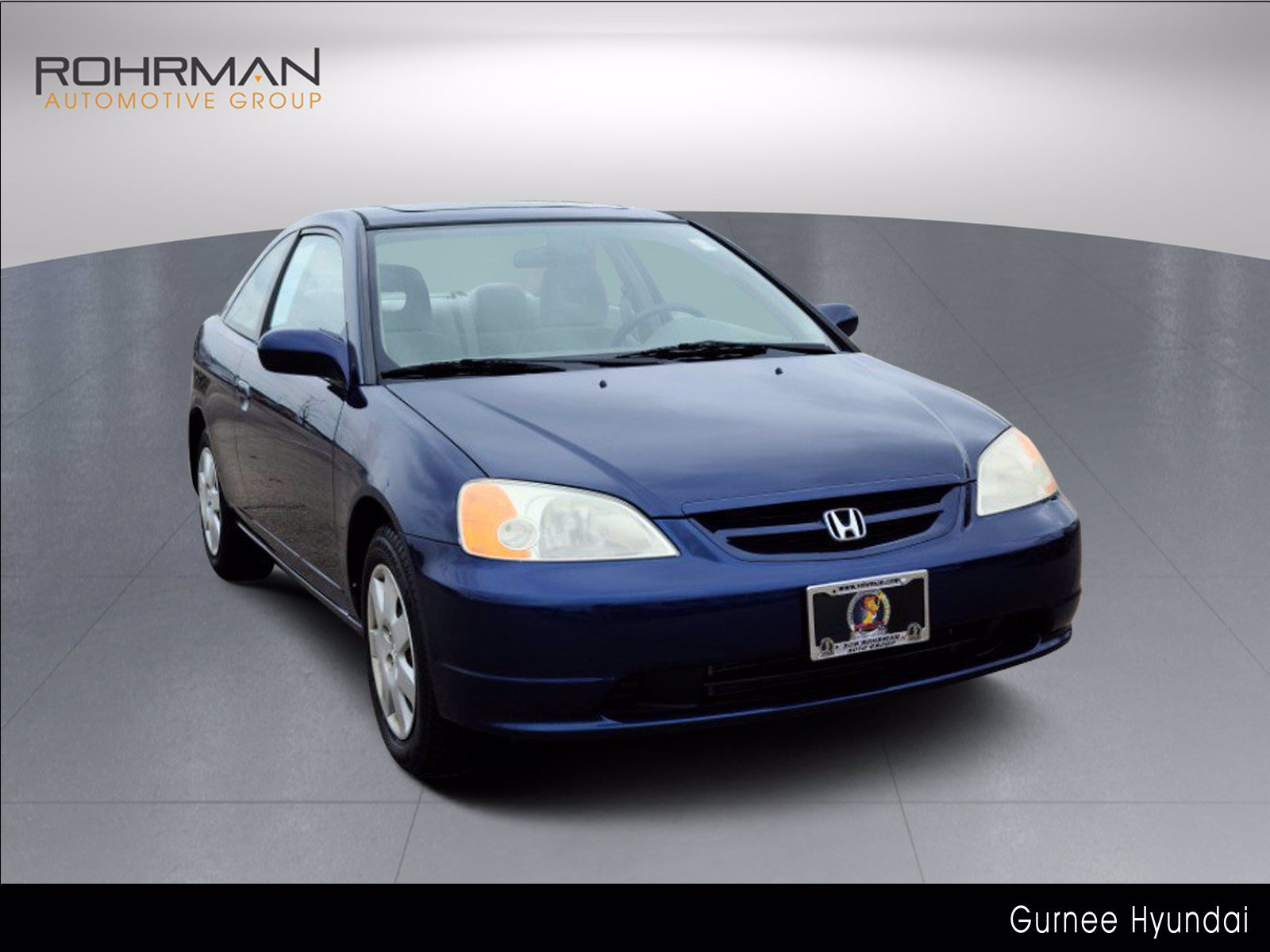 2002 Honda Civic EX w/Side SRS Coupe