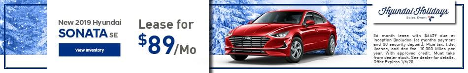 Brand New 2019 Hyundai Sonata SE
