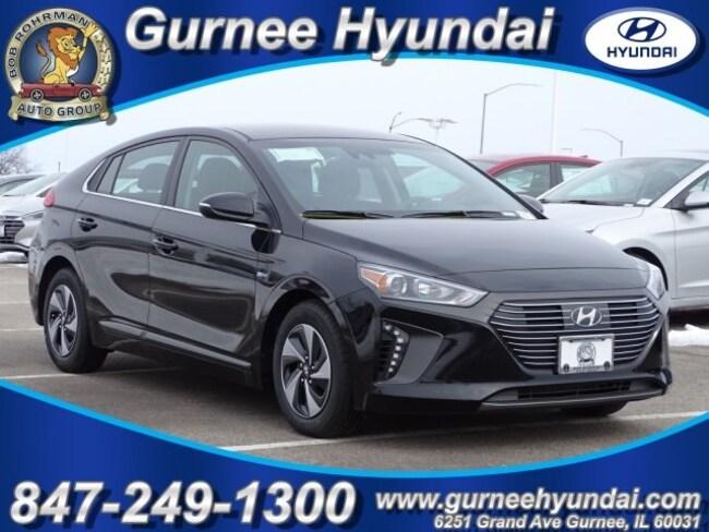 2019 Hyundai Ioniq Hybrid SEL Hatchback