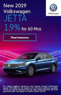 2019 Volkswagen Jetta - 1.9% for 60 Months