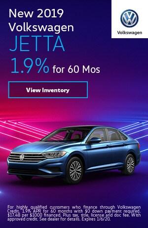 2019 Volkswagen Jetta - 1.9% for 60 Months