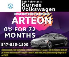 Brand New 2020 Volkswagen Arteon