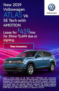 2019 Volkswagen Atlas - Lease