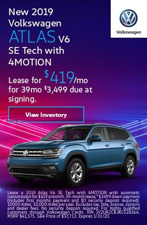 2019 Volkswagen Atlas - Lease