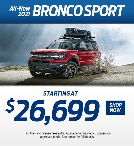 2021 Ford Bronco Sport