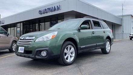 Featured Used 2014 Subaru Outback 2.5i Premium Wagon for Sale in Appleton, WI