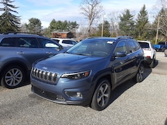 New 2021 Jeep Cherokee LIMITED 4X4 Sport Utility For Sale in Ware, MA