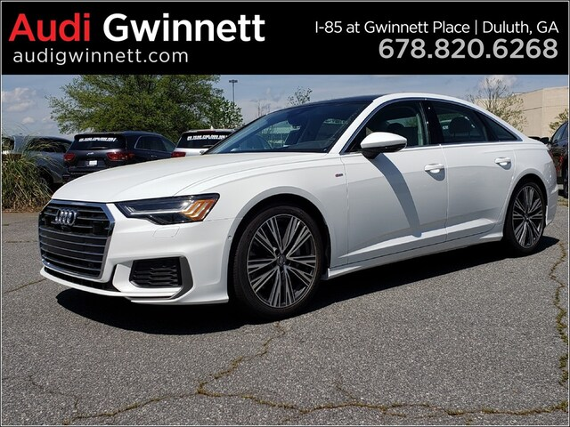 New 2019 Audi A6 3.0 Sedan AKN066631 near Atlanta, GA