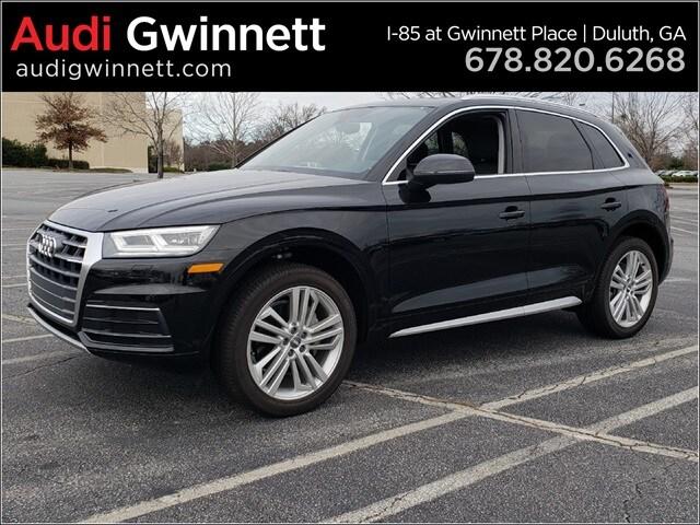 New 2018 Audi Q5 2.0T Premium Plus SUV near Atlanta, GA