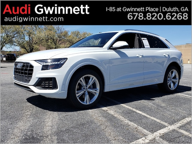 New 2019 Audi Q8 3.0T Premium Plus SUV AKD022952 near Atlanta, GA