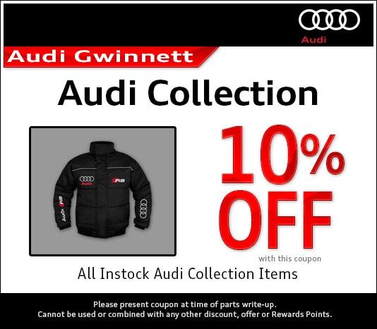 Audi Parts Specials Near Atlanta, GA