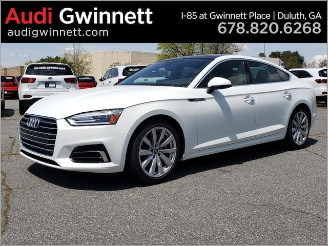 New 2018 Audi A5 2.0T Premium Hatchback AJA132041 near Atlanta, GA