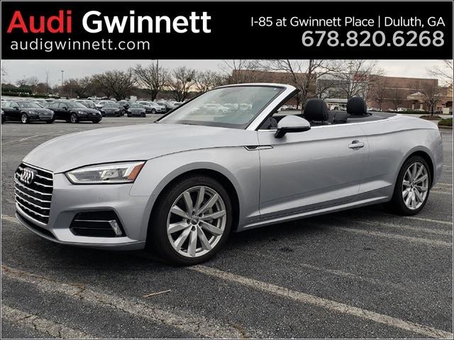 New 2018 Audi A5 2.0T Premium Plus Convertible near Atlanta, GA