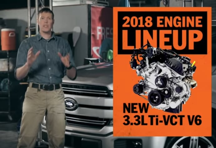2018 Ford F-150 Updates