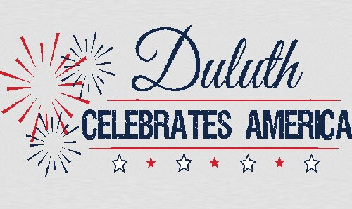Duluth Celebrates America at the Town Green