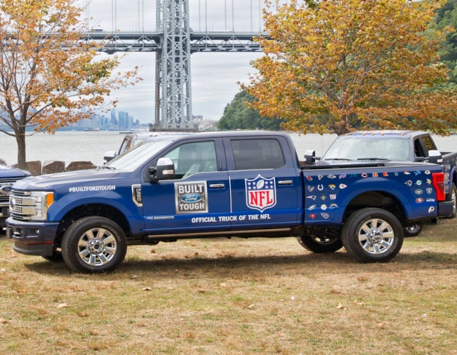 Enter the Ford NFL Tailgate & Super Duty Sweepstakes