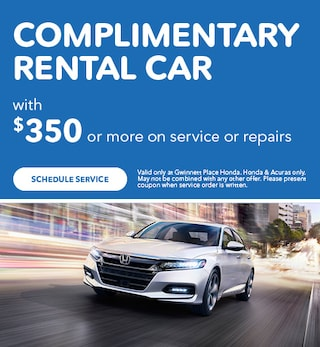 Complimentary Rental Car