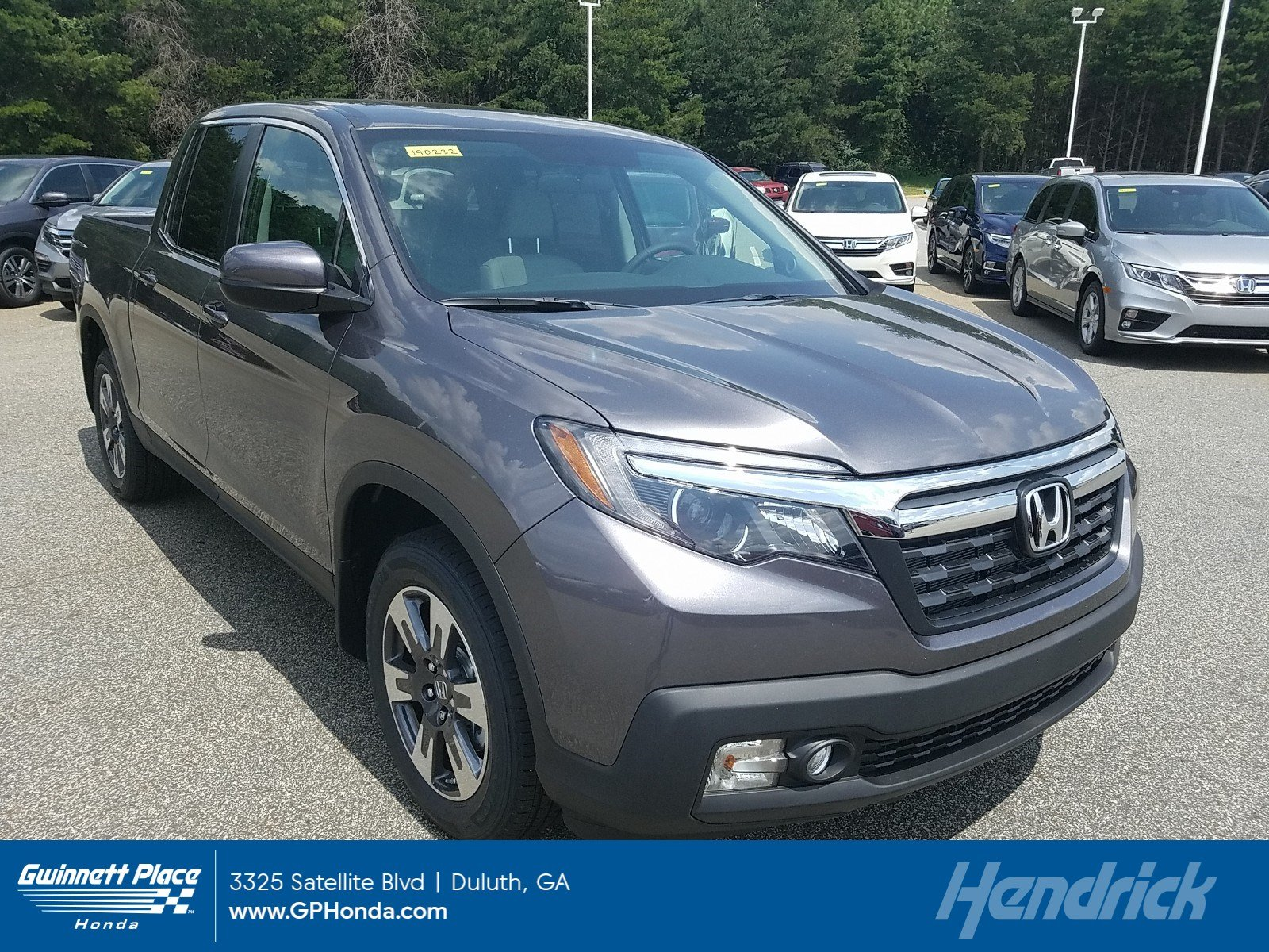 New 2019 Honda Ridgeline RTL 2WD Pickup for sale in Duluth, GA