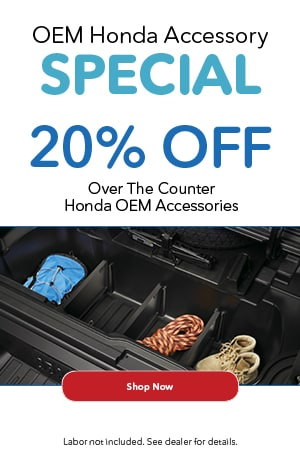 20% off OEM Accessories