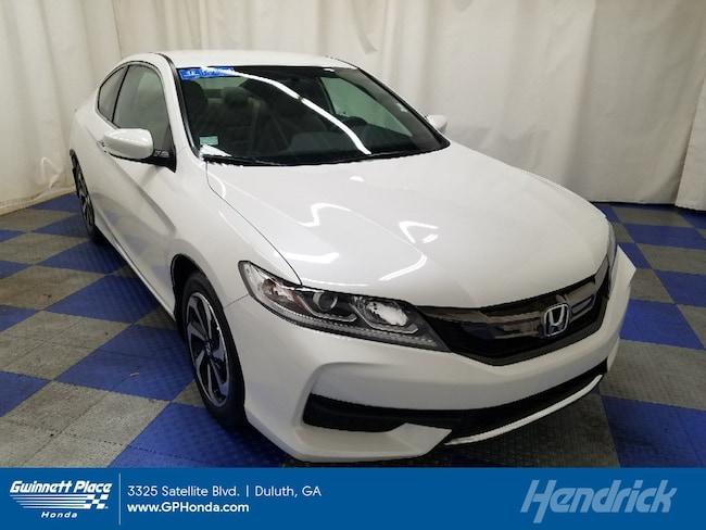 Certified 2017 Honda Accord LX-S CVT Coupe Duluth
