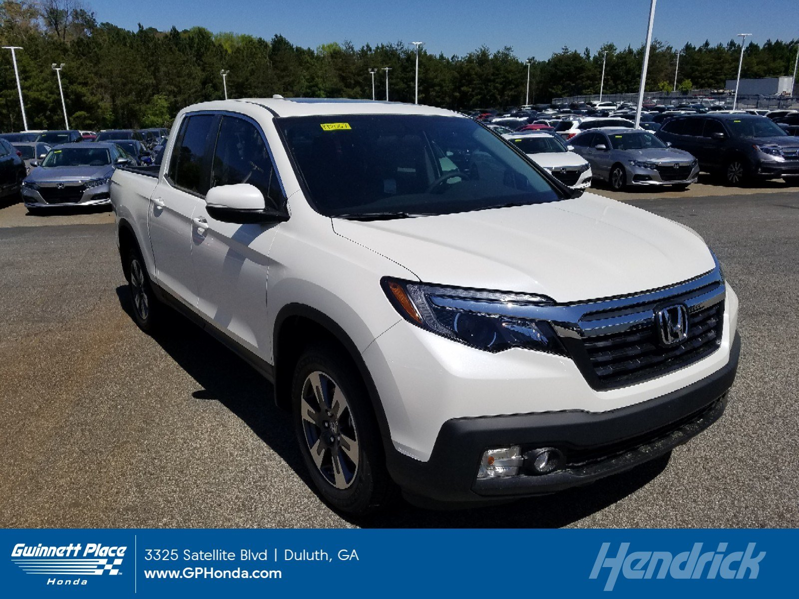 New 2019 Honda Ridgeline RTL AWD Pickup for sale in Duluth, GA