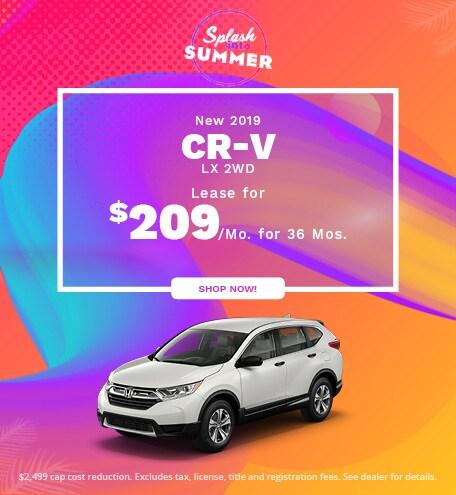 New 2019 CR-V LX 2WD