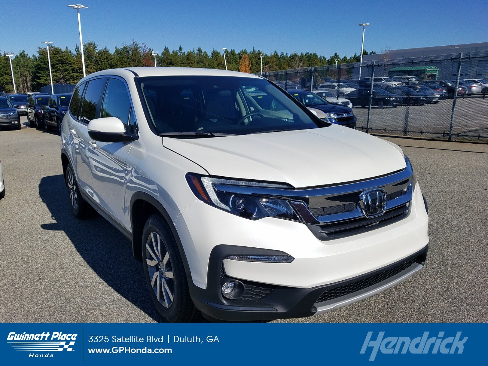 New 2019 Honda Pilot EX 2WD SUV for sale in Duluth, GA