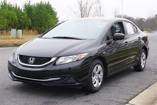 2015 Honda Civic 4dr Man LX Sedan