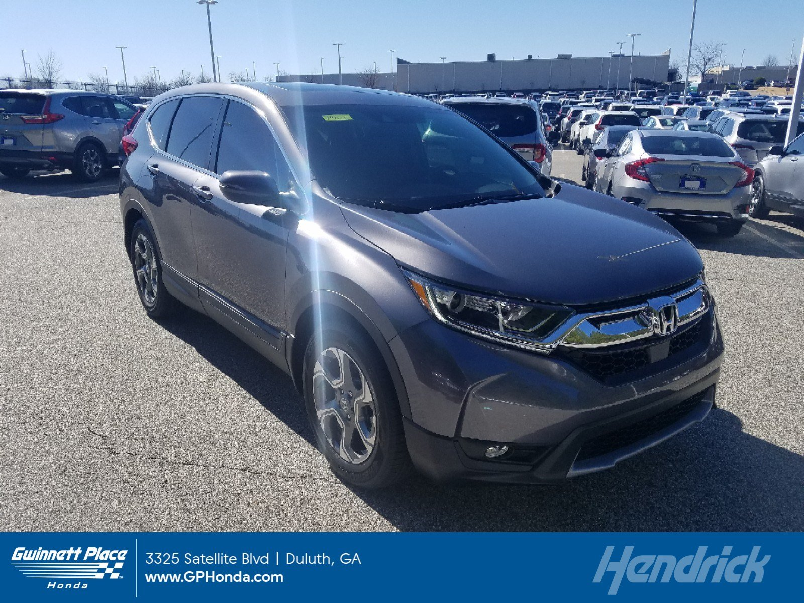 New 2019 Honda CR-V EX 2WD SUV for sale in Duluth, GA