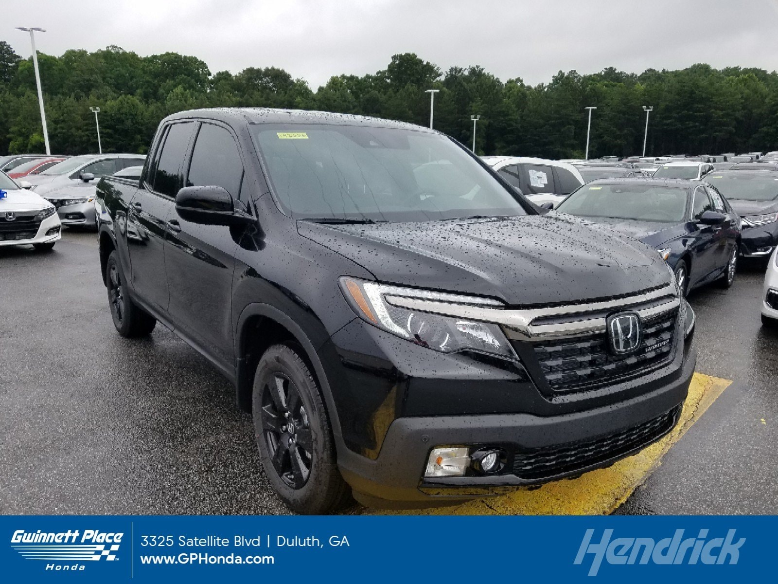 New 2019 Honda Ridgeline Black Edition AWD Pickup for sale in Duluth, GA