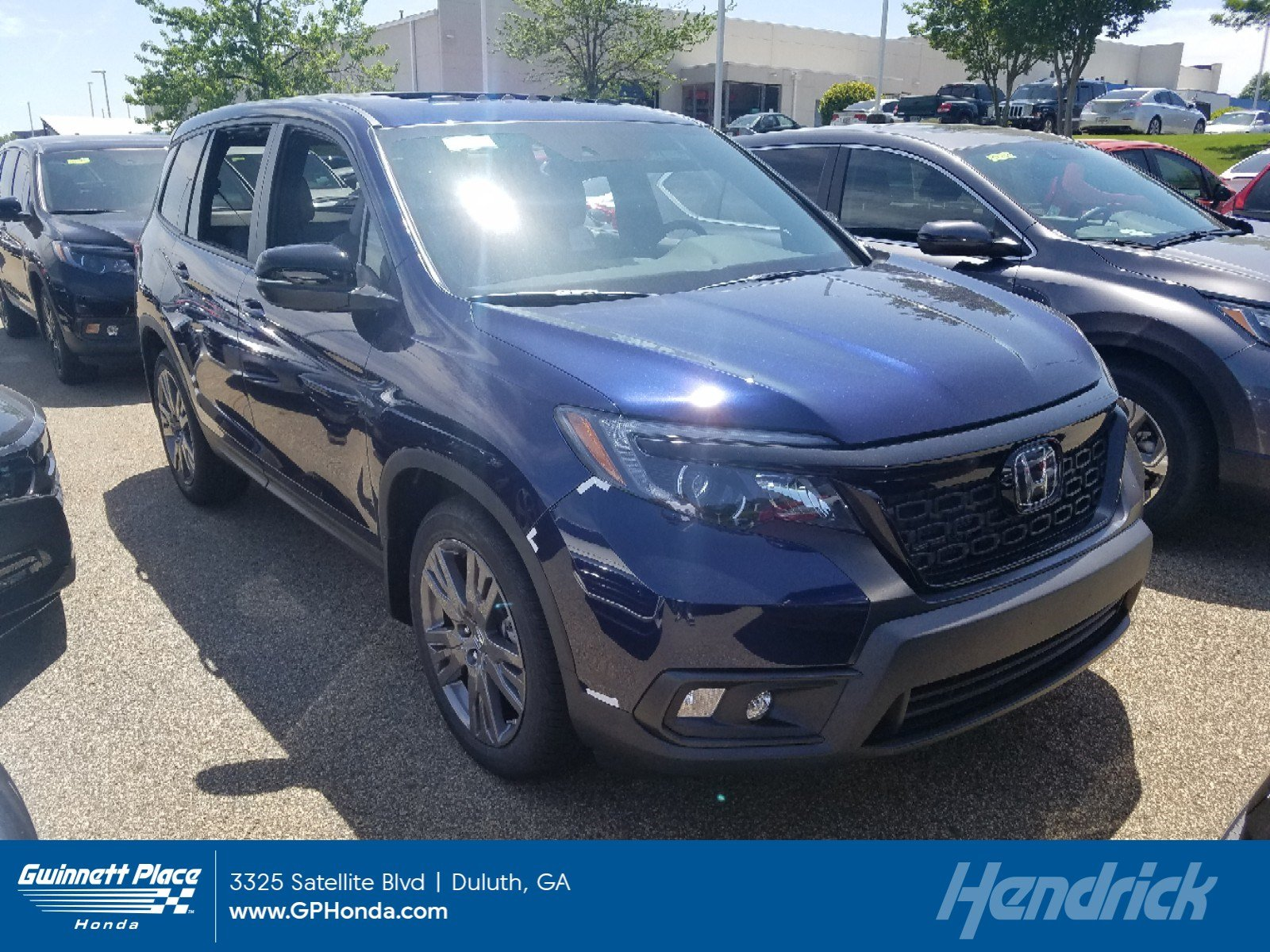 New 2019 Honda Passport EX-L FWD SUV for sale in Duluth, GA