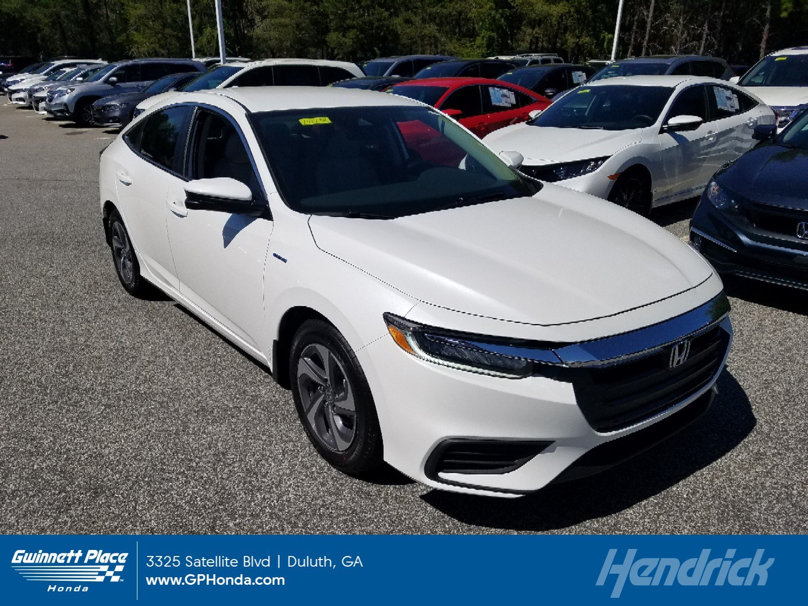 New 2019 Honda Insight EX CVT Sedan for sale in Duluth, GA
