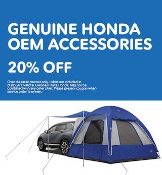 Genuine Honda OEM Accessories