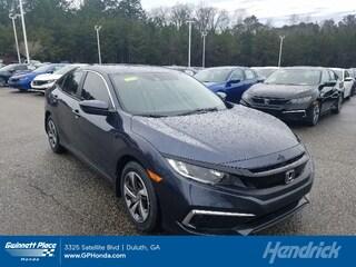 2019 Honda Civic LX CVT Sedan