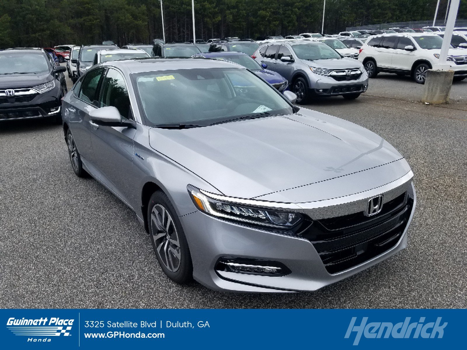 New 2019 Honda Accord Hybrid EX-L Sedan Sedan for sale in Durham, NC