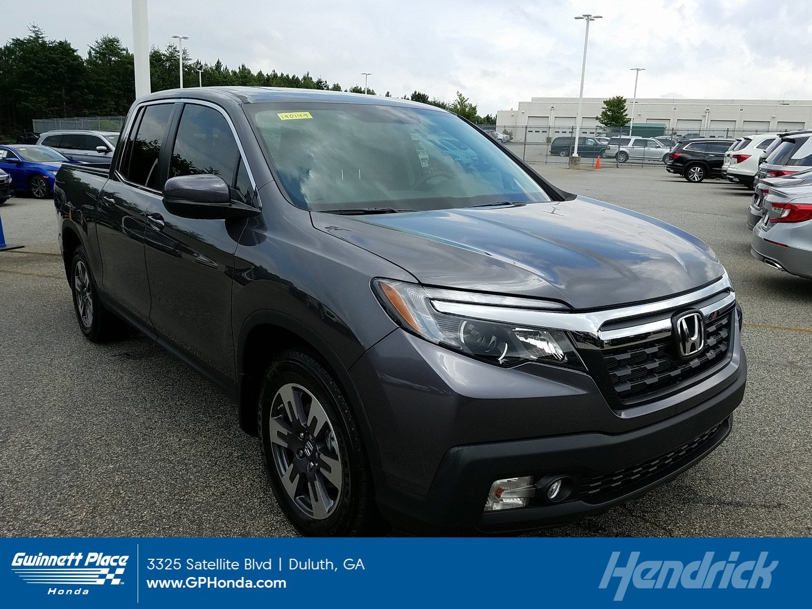 New 2019 Honda Ridgeline RTL 2WD Pickup for sale in Duluth, GA