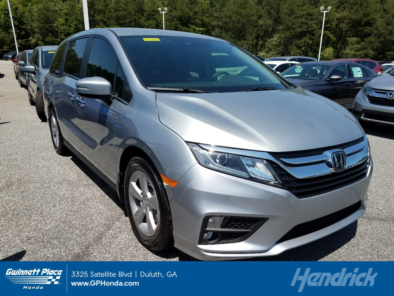New 2019 Honda Odyssey EX Auto Minivan for sale in Duluth, GA