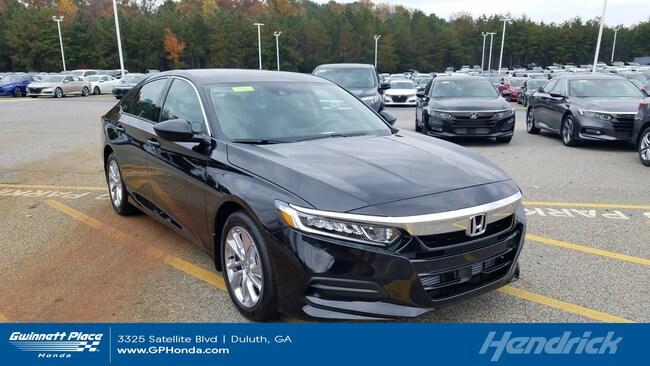 New 2019 Honda Accord LX 1.5T CVT Sedan Duluth